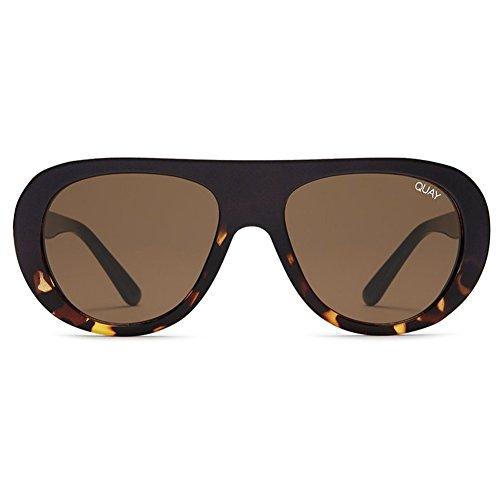 Quay Bold Move Sunglasses | Modern Frames - Reflective Lens | UV - Sunglasses Needing Fame Quay