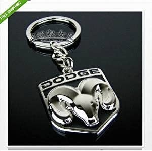 1pcs Metal KeyChain Key Ring Accessories Car Products Compatible Fit For USA Auto Model Dodge