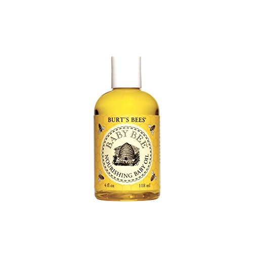 Burt's Bees Baby Bee Nourishing Baby Oil (4 fl 0z / 118ml) (Pack of 4) by Burt's Bees