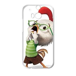 JIANADA Chichen little Case Cover For HTC M8 Case