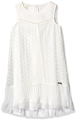 GUESS Girls Sleeveless Embroidered Organza