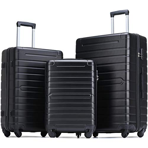 Flieks Luggage Sets 3 Piece Spin...