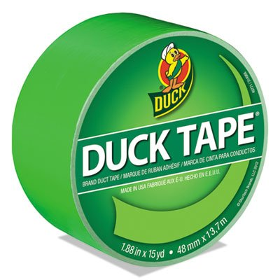 Shurtech Brands 1265018 15 Yard Neon Green Duck Tape