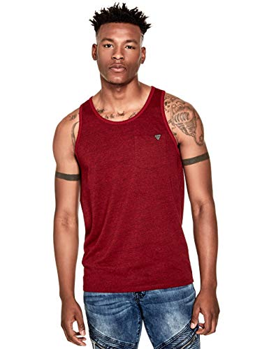 (GUESS Factory Men's Roy Marled Tank)