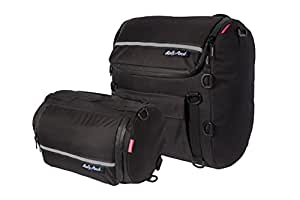 Dowco 50030-00 Rally Pack Luggage System, Black - 2 pc.