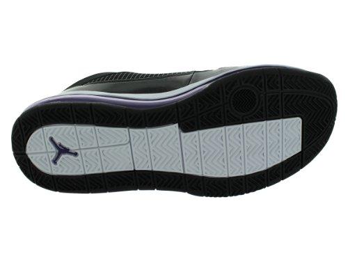 Nike Jordan Vlucht 9 Max Eerste Basketbalschoenen Zwart / Club Paars / Wit