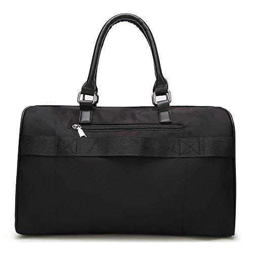 Voyage Messager D'oreiller Portable Imperméable Sac Épaule Capacité Bagage Grande De Une Black qIS0Anw6
