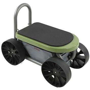 garden seat on wheels. Easy Up ATV Gardening Seat On Wheels Garden S