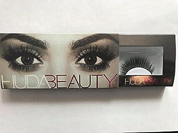 ad689f55aee Amazon.com: Huda Beauty Samantha Style Number 7 False Eyelashes Fake  Eyelashes: Beauty