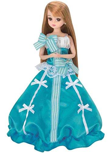 Licca-chan Dress LD-03 Aquamarine Princess by Takara Tomy