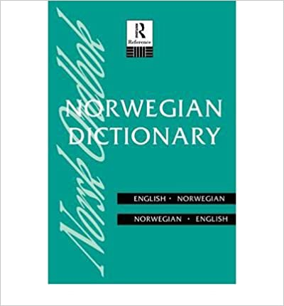 [ NORWEGIAN DICTIONARY ] by Cappelens, Forlang A.S. ( Author ) [ Aug- 25-1994 ] [ ]