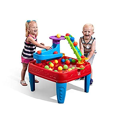 Step2 Stem Discovery Ball Table | Wet Or Dry Water Table & Activity Table | Toddler Ball Play Table | 10 Balls Included: Toys & Games