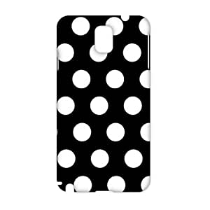 Cool-benz Simple white spot pattern 3D Phone Case for Samsung Galaxy Note3