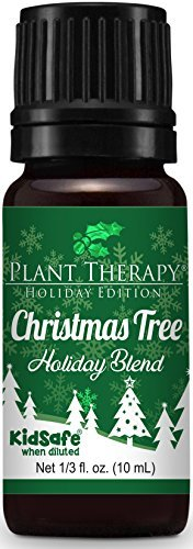 - Plant Therapy Essential Oil | Christmas Tree Holiday Blend | 100% Pure, Undiluted, Natural, Therapeutic Grade | 10 mL (1/3 oz)