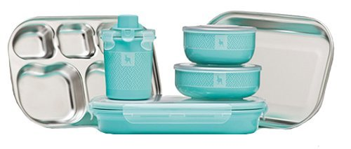 新しいスタイル Kangovou Kids B00BT0HAR6 9 Set Piece Dishware Set (Iced Mint) Kangovou by Kangovou B00BT0HAR6, 井筒屋古書店:2c04ca30 --- a0267596.xsph.ru