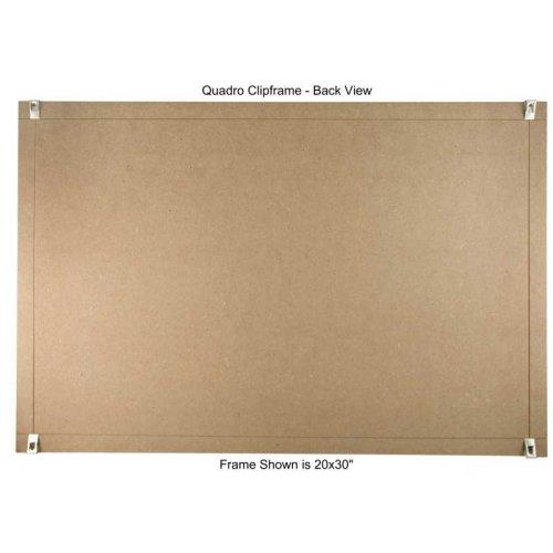 Quadro Clip Frame 24x36 inch Borderless Frame