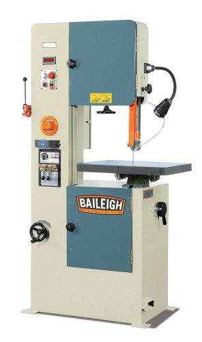 Baileigh BSV-20VS Variable Speed Vertical Band Saw, 1-Phase 220V, 20-1/2″ Throat Depth