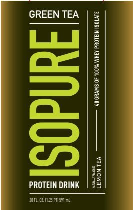 Nature's Best Isopure Ready-to-Drink, Green Tea Lemon, 12 Count by Nature's Best (Image #3)