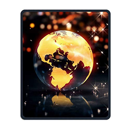 Mouse Pad Earth Background Loop Animation Rectangle Rubber