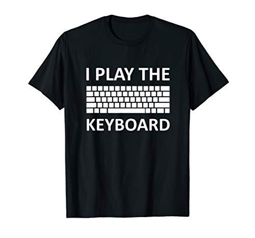 Gamer Keyboard T-Shirt Gaming Nerd Computer eSport Gift Idea
