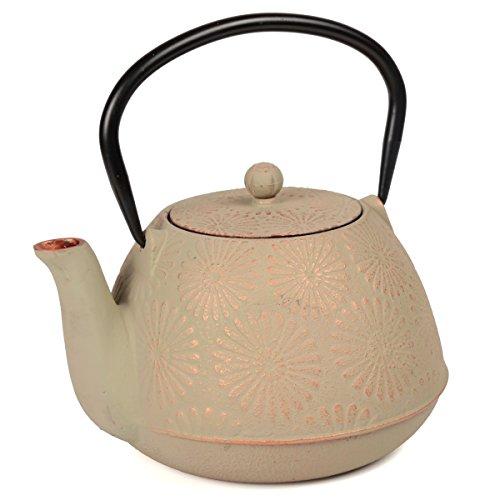 cast iron tea pot 40 oz - 5