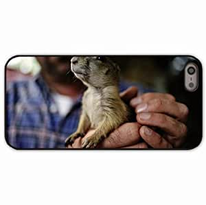 iPhone 5 5S Black Hardshell Case rodent hands claws gopher Desin Images Protector Back Cover