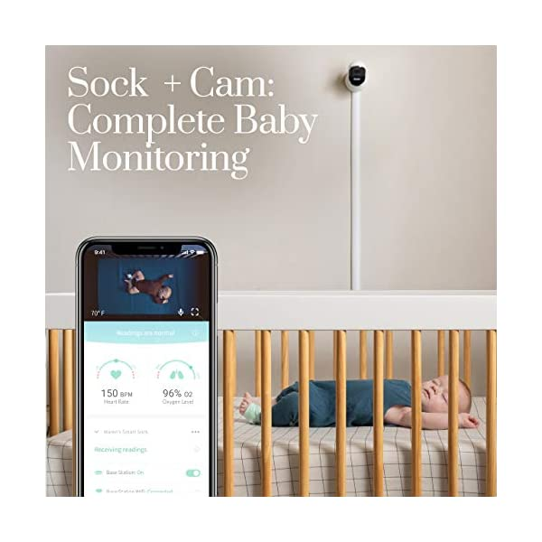 Owlet Duo Smart Baby Monitor with HD Video, Oxygen, and Heart Rate 2