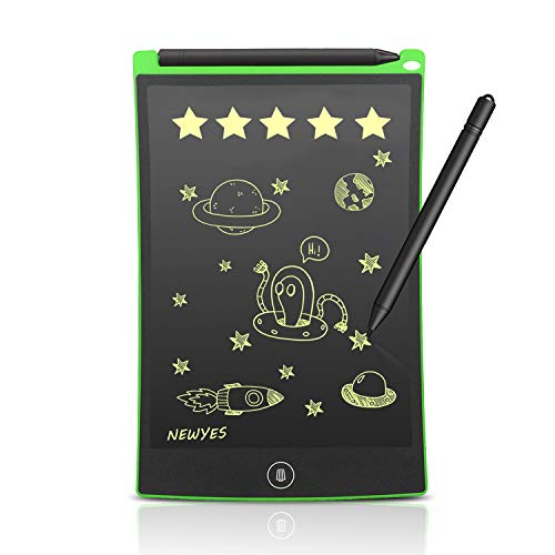 PC Hardware : Newyes 8.5-Inch LCD Writing tablet-Can Be Used as office Whiteboard Bulletin Board Kitchen Memo Notice Fridge Board Large Daily Planner Gifts for kids(Green)