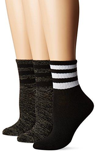 adidas Womens Originals Superlite 3-Pack Quarter Socks