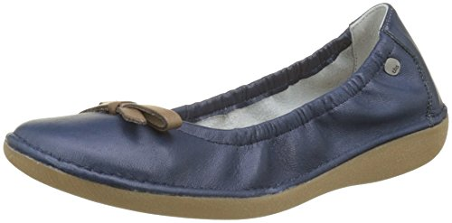 Blue Macash Tbs Ballet outremer Toe Closed Taupe Women''s Flats I02 AaYvYwgq