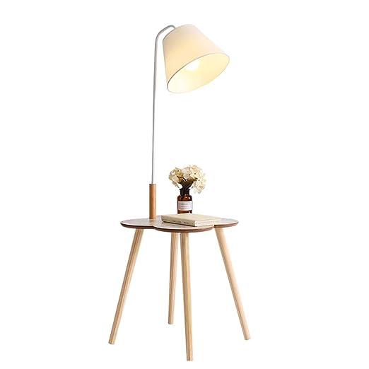 ZH pantallas Lámpara de pie Nordic Creative Fuente de luz ...
