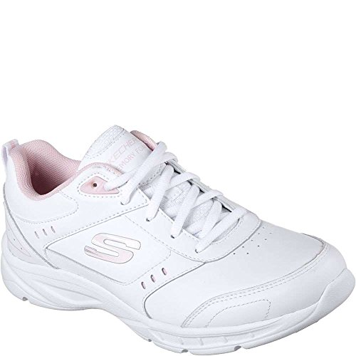 Mystics Casual White Skechers Shoe Pink Women's CqS5wxgZ
