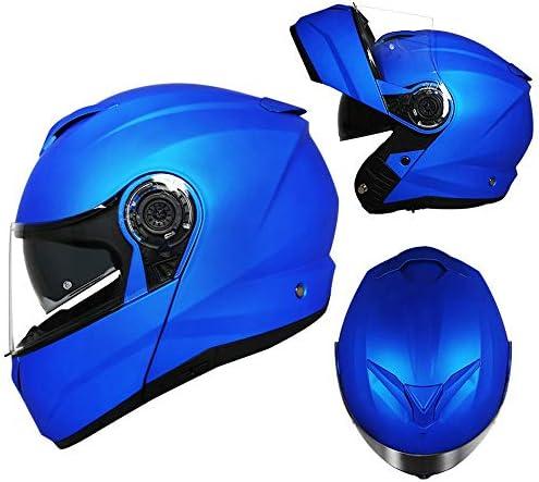 フルフェイスモトクロスヘルメンマウンテンバイクヘルメット軽量ロードクラッシュヘルメット男性女性フォーシーズンズダブルレンズオートバイ