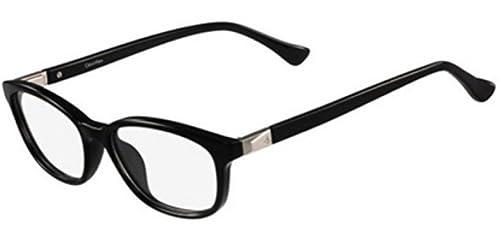 Calvin Klein Platinum – CK5927, Rechteckig, Acetat, Damenbrillen, BLACK(001 A ), 52/16/140
