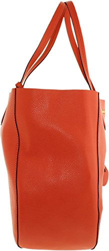 3fcf49ac7cb4d4 Amazon.com: MICHAEL MICHAEL KORS Mae Large Leather Reversible Tote (Peach  Grapefruit/Pale Gold): Michael Kors: Clothing