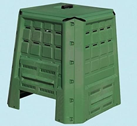 BRIXO Compostador Ecobox Fast para jardín 380 l. 80 x 80 x 82 cm.: Amazon.es: Jardín