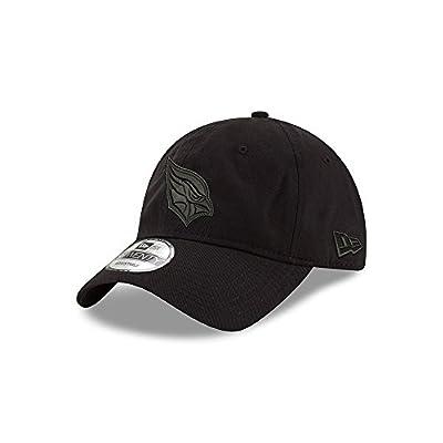 Arizona Cardinals Black on Black 9TWENTY Adjustable Hat / Cap from New Era