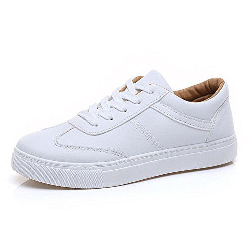 Sexy Women's Shoes Summer Casual Movement White Shoes Flat Bottom Single Shoes Two Colors to Choose from 01 MwufcDeOp