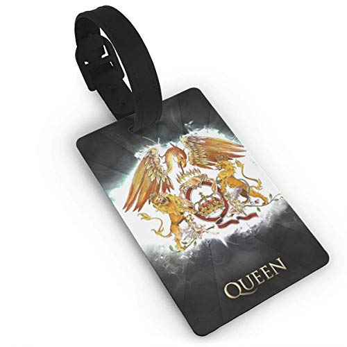ABLnewitemFrameFF Queen-Rock Luggage Tags Suitcase Tags Identifiers Business ID Sturdy Tags Baggage Tags,Suitcase Tags Apply 3.7 X 2.2 in Size 2.2 X 3.7 inches