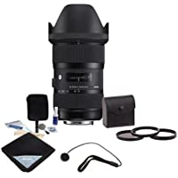 Sigma 18-35mm F/1.8 DC HSM ART Lens for Canon EOS with VALUABLE BUNDLE, #210101A