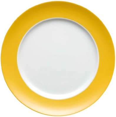 Thomas Sunny Day - Plato llano de 27 cm, color amarillo y blanco ...