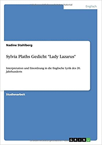 sylvia plath lady lazarus analysis