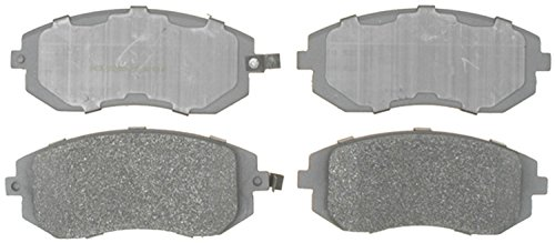 ACDelco 14D929M Advantage Semi-Metallic Front Disc Brake Pad Set with Wear Sensor