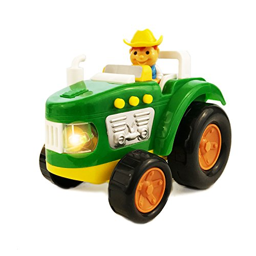 Check Out This Boley Farm Tractor Toy with Lights and Sound - perfect educational toy for toddlers t...