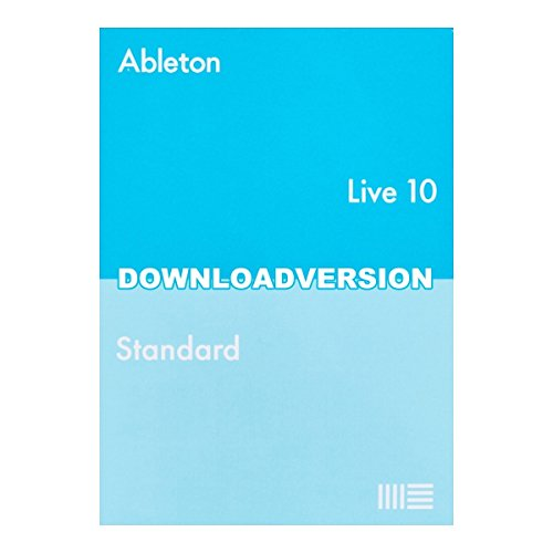 Ableton Live10 Standard 通常版 楽曲制作ソフト【ダウンロード版】 エイブルトン   B07B2673SN
