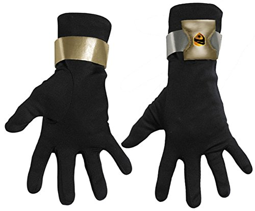 Snake Eyes Deluxe Costumes - Boys Snake Eyes Deluxe Gloves(One Size-As Shown)