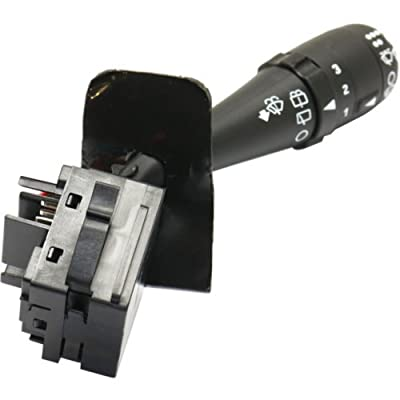 Wiper Switch compatible with Saturn L-Series 01-03 / Vue 02-05 / Equinox 05 11 Terminals Blade Type