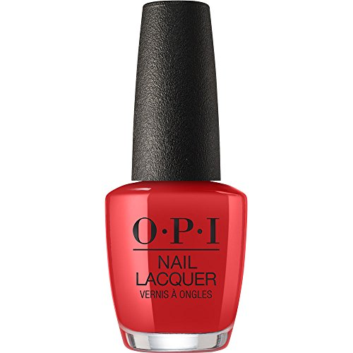 0.5 Ounce Bath Shower - OPI Nail Lacquer, Danke-shiny Red, 0.5 fl. oz.