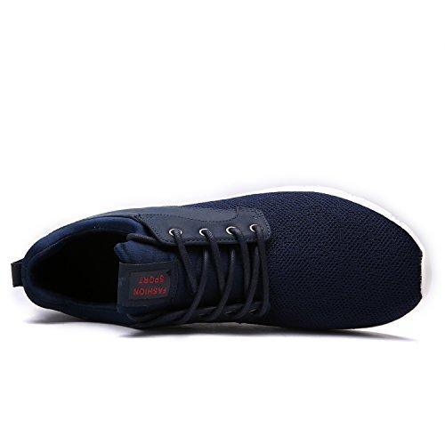 Occasionnels Poids Maylen Lacets Course Hommes Chaussures Léger Formateurs Marine Sport À Marche De Gymnase Hughes Femmes Chaussures rS8qzr