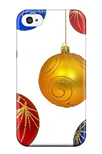 John Ramsey NUsjjXg3750wulEL Case Cover Skin For Iphone 4/4s (christmas Ornaments Personalized)